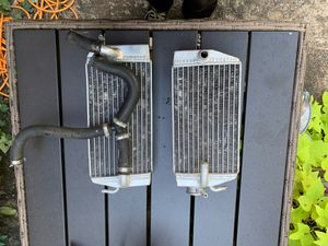 FPS racing Dirtbike radiator all aluminum. for Sale in Marietta, GA