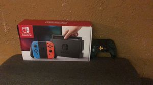Nintendo switch with controller and 256 gigs sd card for Sale in Dearborn, MI