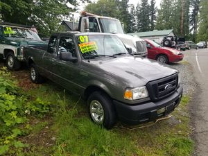 2007 Ford Ranger manual transmission. Price does not include tax and license fees for Sale in Snohomish, WA