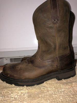 ARIAT Work boots - safety toe for Sale in Ruskin, FL