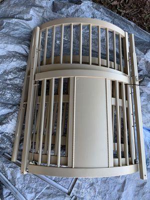 Gold round crib for Sale in Galt, CA