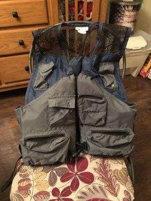 Fishing life vest for Sale in Danville, IN