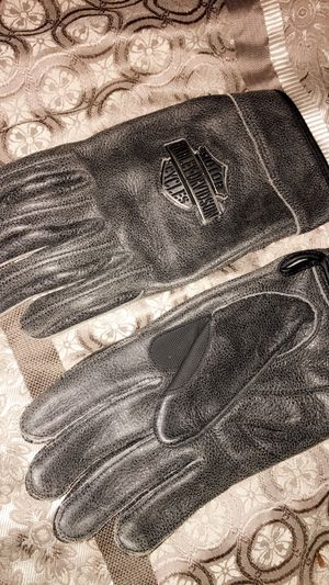 Harley Davidson Motorcycle Gloves L for Sale in Stone Mountain, GA