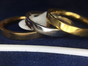 3 piece set of stackable rings sizes 3-10 available for Sale in Cumberland, RI