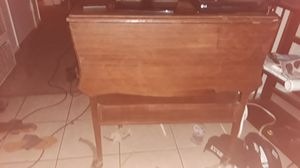 TV AND ANTIQUE TABLE for Sale in San Diego, CA