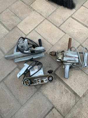 Old power tools.. they work like new for Sale in Escondido, CA