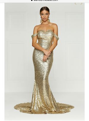 Gold Sequin Prom Dress by AlamourtheLabel for Sale in Los Angeles, CA