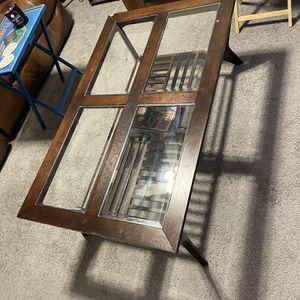 dark wood coffe table OBO for Sale in New Port Richey, FL