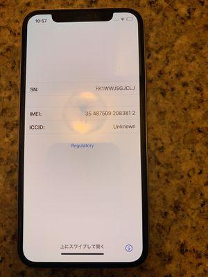 iPhone X 64gb silver for Sale in Phoenix, AZ