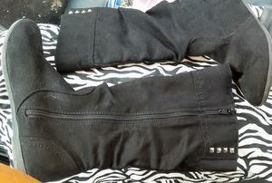 Women's Wide Calf Boots (Black) - Size 5 - Target Store $10 LIKE NEW for Sale in San Antonio, TX