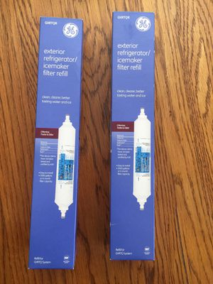 GE refrigerator exterior filter( GXRTQR) ,never used in a box 2 for $10 . for Sale in Herndon, VA