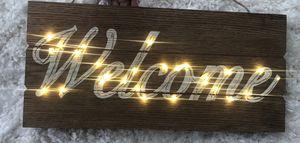 Wooden Welcome Sign for Sale in Manassas, VA