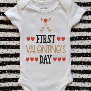 First Valentines Day Onesie for Sale in El Cajon, CA
