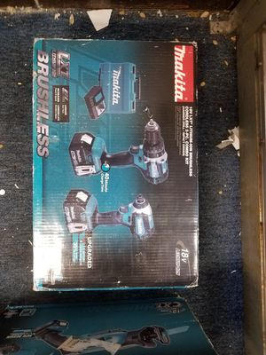 Makita 18-volt lxt Hammer drill and impact driver model xt269m for Sale in Baltimore, MD
