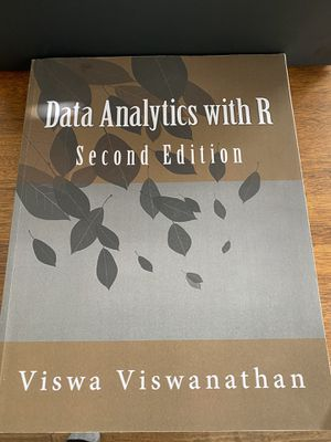 Data analytics with R 2nd edition for Sale in Frisco, TX