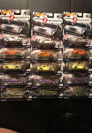 Hot wheels Japan historics 2 lot for Sale in Rancho Cucamonga, CA