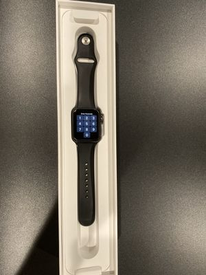 Apple Watch Series 3 Cellular LTE GPS UNLOCKED Space Gray for Sale in Fullerton, CA