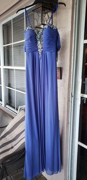 Blue formal dress/prom for Sale in Pompano Beach, FL