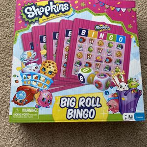 Shopkins Big Roll Bingo Game for Sale in Fontana, CA