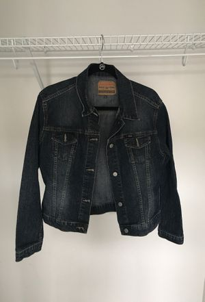 Women's full length Jean Jacket, Diesel Industry, size Large for Sale in Gaithersburg, MD