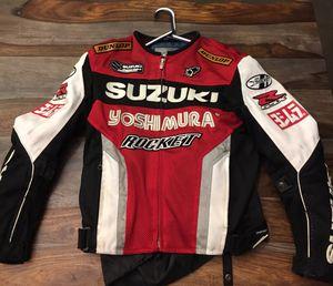 Suzuki GSXR motorcycle jacket, men's small for Sale in Los Angeles, CA