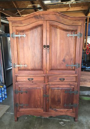 Antique Mahogany Armoire for Sale in Poway, CA