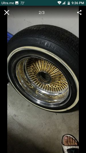 Gold spoke rim for Sale in Peoria, AZ