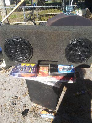 Kicker Comp Vr 12s kicker amp kit bass knob for Sale in Winter Haven, FL