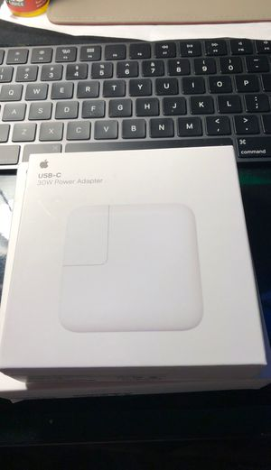 Apple 30W power adapter USB-C for Sale in Tracy, CA