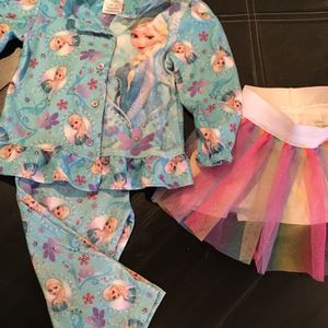 Girl's 10 piece Clothing Lot 3T, 4T, 4/5 &6 Disney Frozen, Hello Kitty & More for Sale in Las Vegas, NV