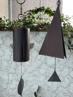 Two Large Wind Chimes / Woodstock Chimes for Sale in Long Beach,  CA