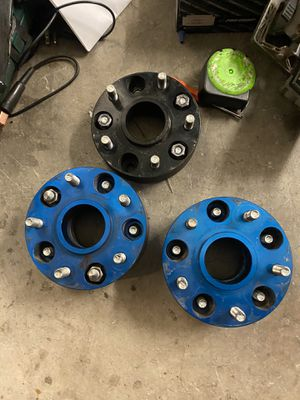 Jeep rubicon wheels spacers. for Sale in Vista, CA
