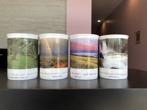 Set/4 Ken Duncan Hour Of Power Collection Featuring Inspirational Bible Scriptures Bone CHINA for Sale in Feasterville-Trevose, PA