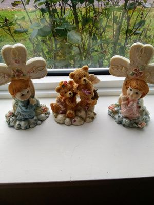 Set of 3 children's figures for Sale in Owensville, MO