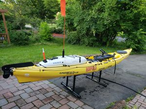 Ocean kayak ultra 4.3 fishing bundle for Sale in Princeton, NJ