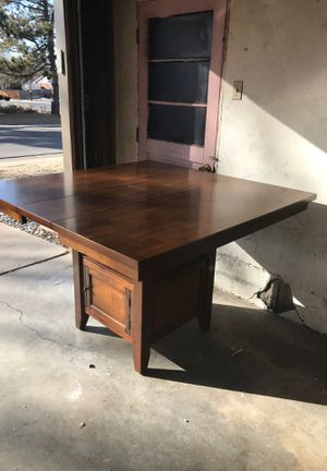 Solid Wood Counter Height Table for Sale in Arvada, CO