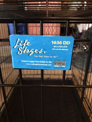 Large pet crate for Sale in Hanover Park, IL