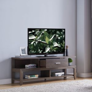 TV Stand up to 70in TV, Walnut Oak for Sale in Huntington Beach, CA