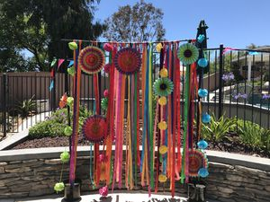 Photo booth backdrop & props for Sale in Lakeside, CA