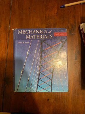FREE Solid Mechanics Engineering Text Book for Sale in Columbus, OH