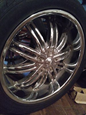 22 Inch 6 lug /universals for Sale in Arlington, TX