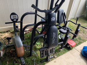 Like new. Bench, all in one pull up/Ab , exercise bike. for Sale in Arlington, VA