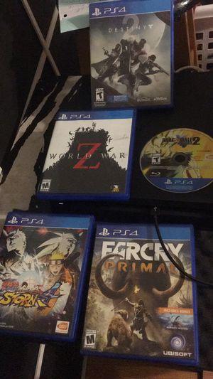 PlayStation 4 games ($20 each) for Sale in Grand Prairie, TX