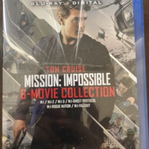 Mission impossible Collection - 6 Movies - Brand New for Sale in Anaheim, CA
