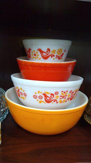 Vintage Pyrex Mixing Bowls Friendship for Sale in Norfolk, VA