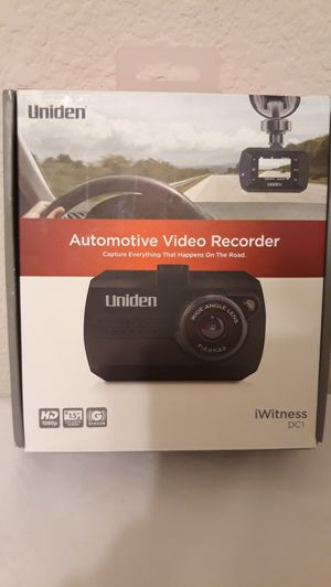 Uniden Automotive Video Recorder for Sale in Plano, TX