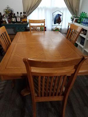 Wooden kitchen table for Sale in Virginia Beach, VA