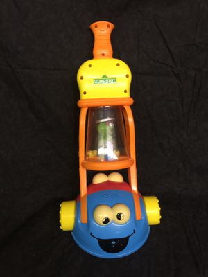 Sesame Street 2 in 1 Giggle Vacuum Fisher Price Elmo, Cookie Monster for Sale in Moore, SC