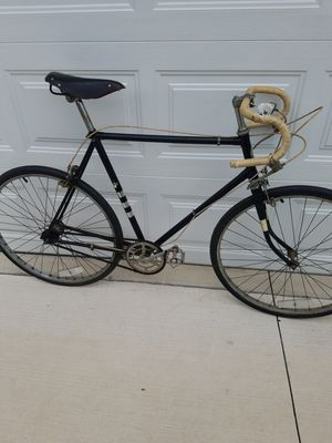 SOLD HERCULES 3spd road bike, leather seat for Sale in Springfield, OH