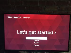 Tcl roku tv 55 inch for Sale in Alamo, TX
